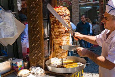 کباب ترکی پرفروشترین غذای ترکیه ای