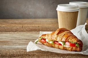 ترکیب فست فود و قهوه