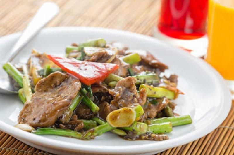 گوشت شتر مرغ