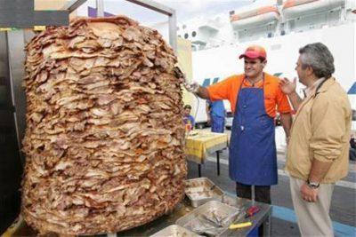 کباب ترکی سرشار از پروتئین