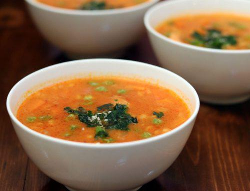 طرز تهیه سوپ جو قرمز به شکل رستورانی به همراه نکات